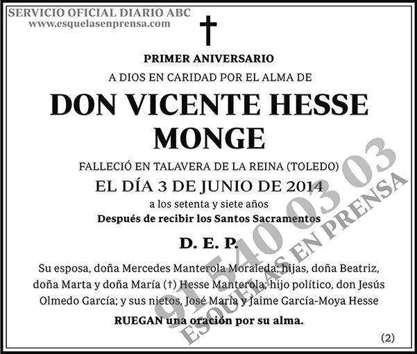Vicente Hesse Monge